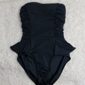 Jantzen : Strapless Ruffle Onepiece Swimsuit